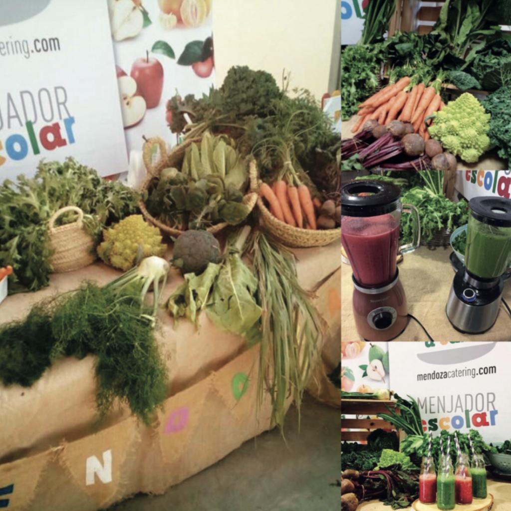 Taller de batidos de verdura Actividades Mendoza Colectividades