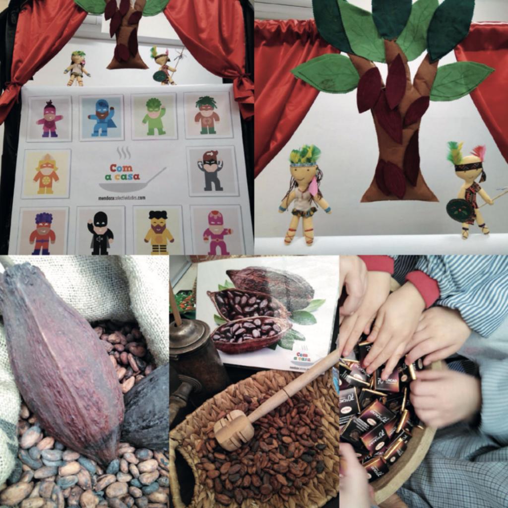 Taller del cacao de verdura Actividades Mendoza Colectividades
